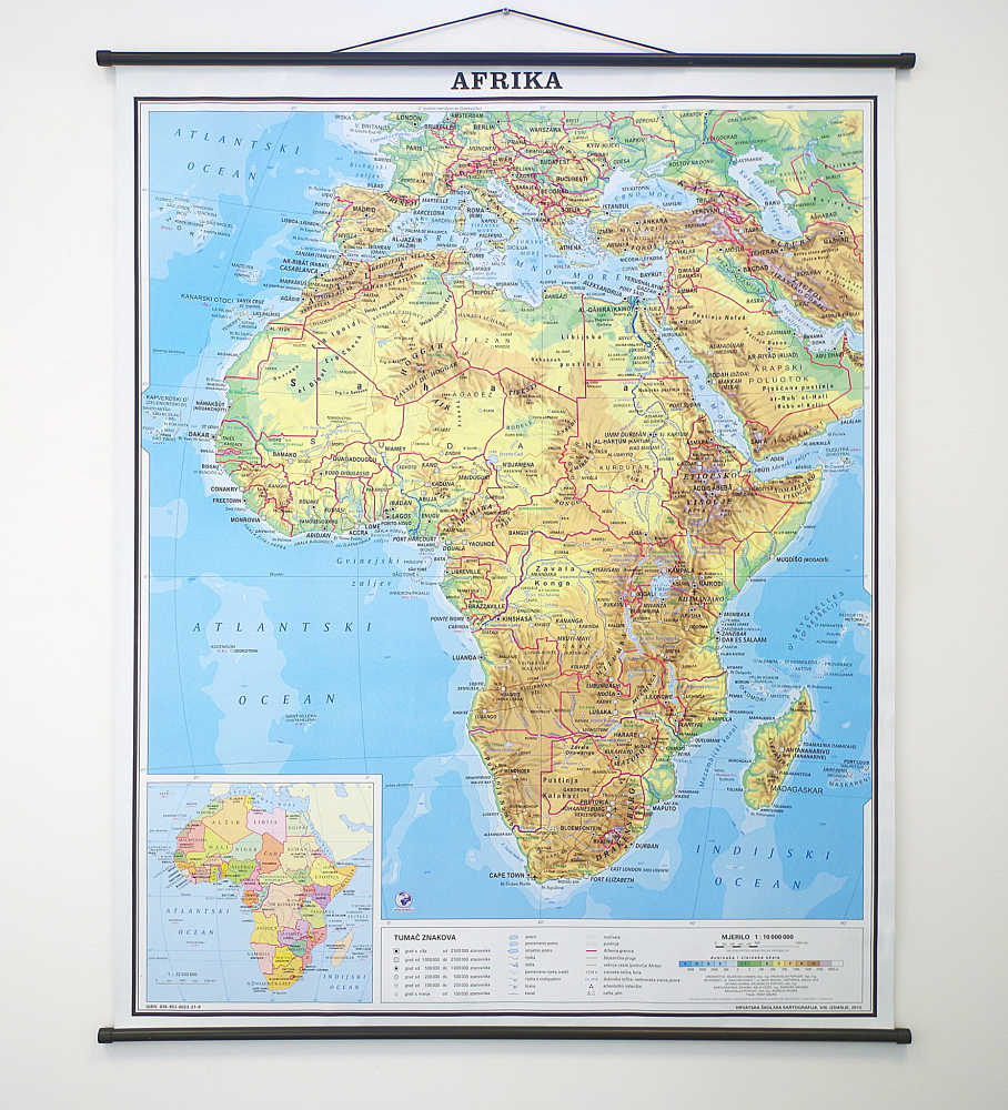 Afrika Karta