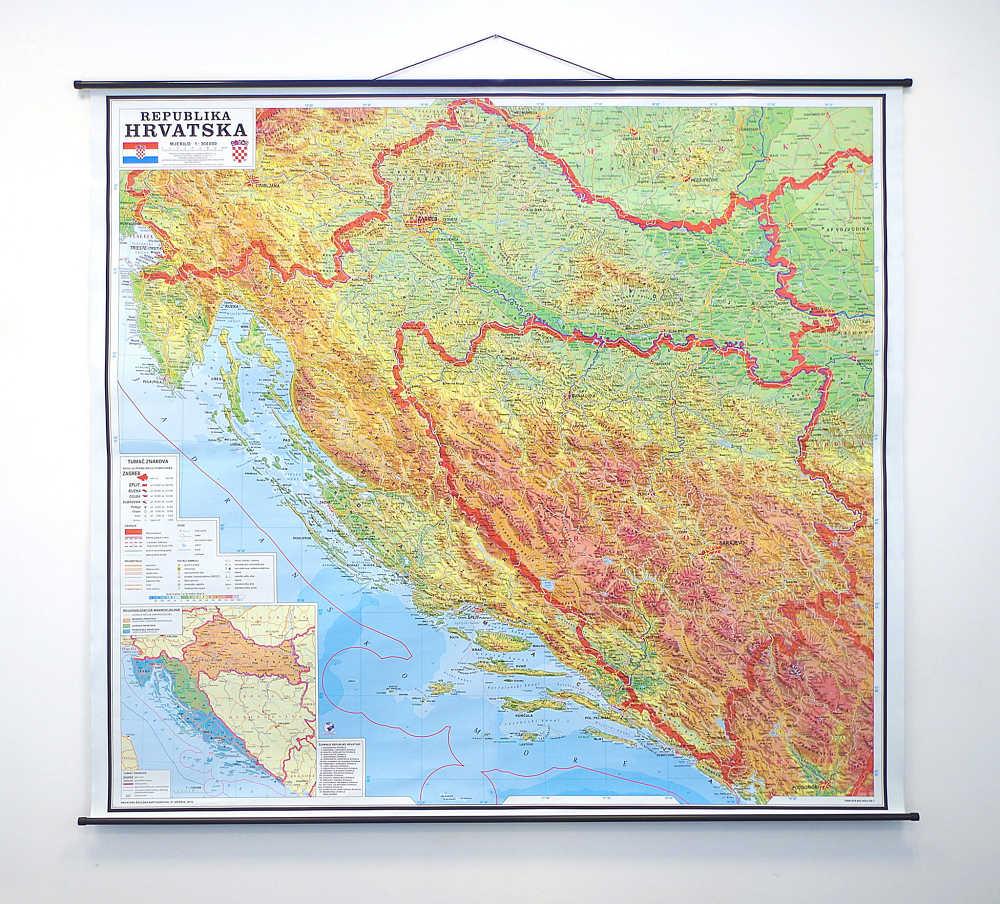 Republika Hrvatska Hrvatska Skolska Kartografija