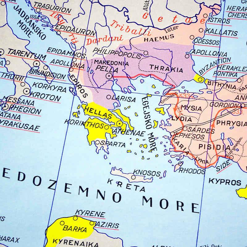 Grcka U Starom Vijeku Hrvatska Skolska Kartografija