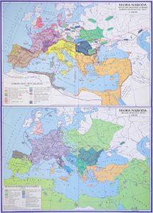 Povijesne Karte Hrvatska Skolska Kartografija