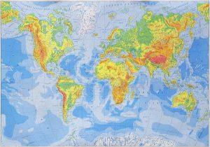 Geografske Karte Hrvatska Skolska Kartografija